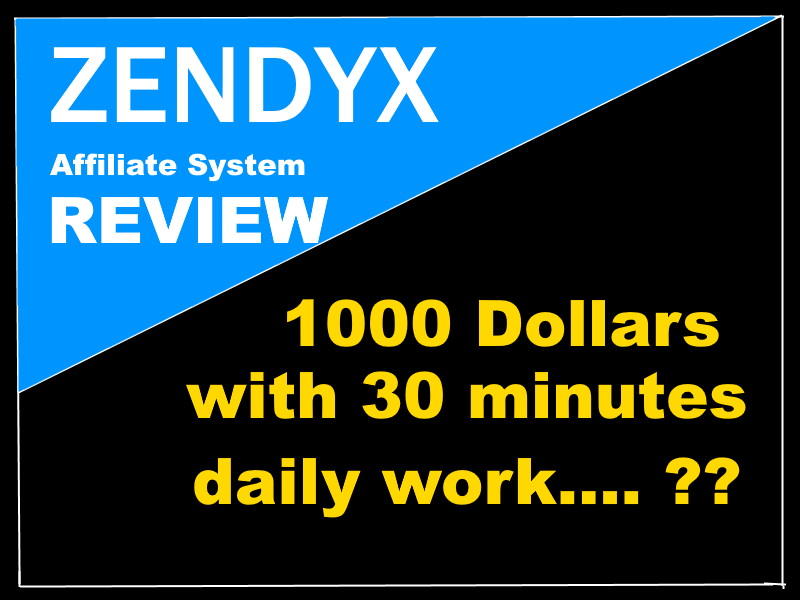 Zendyx Affiliate System Review